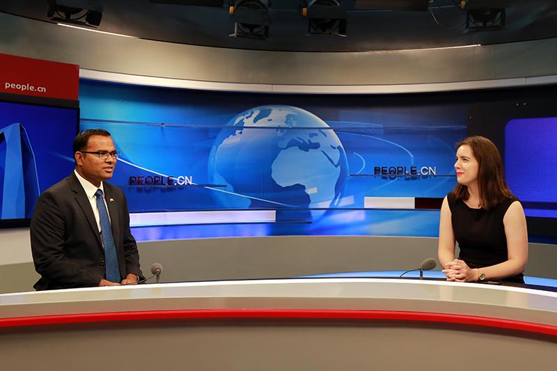 马尔代夫驻华大使:马中关系愈发稳固费萨尔·穆罕默德示,马尔代夫与中国1972年建交,在过去的45年里关系愈发稳固,期待两国多领域合作。【详细】