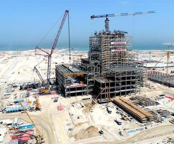 走进中东首个清洁燃煤电站建设工地