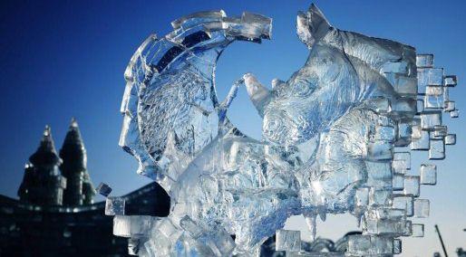 哈尔滨国际冰雕比赛落幕